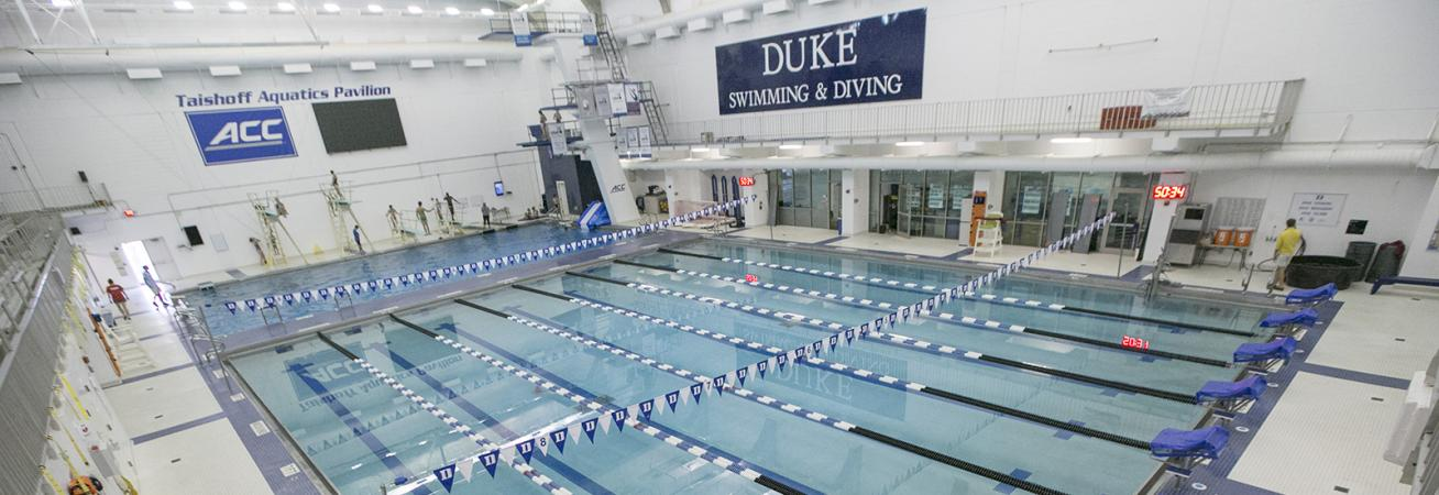 Taishoff Aquatics Pavilion Duke Recreation